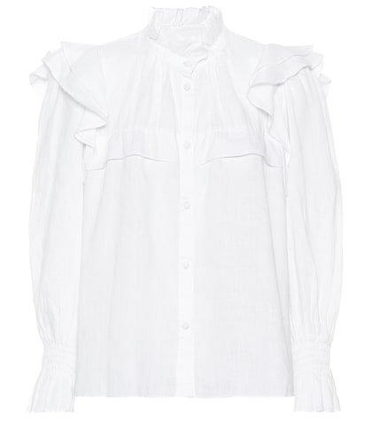 Tedy linen shirt