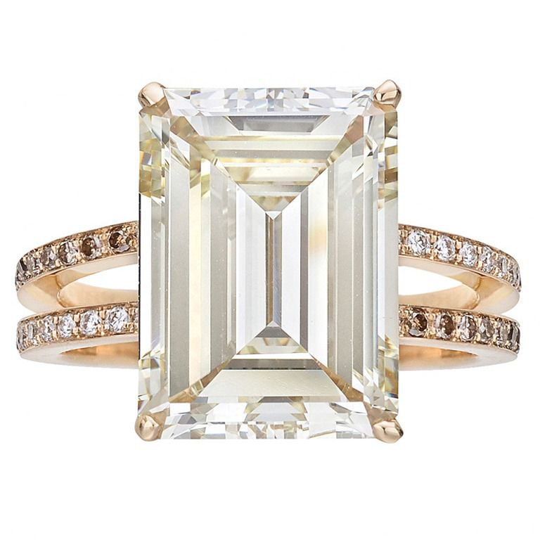 9.54 Gold Engagement Ring