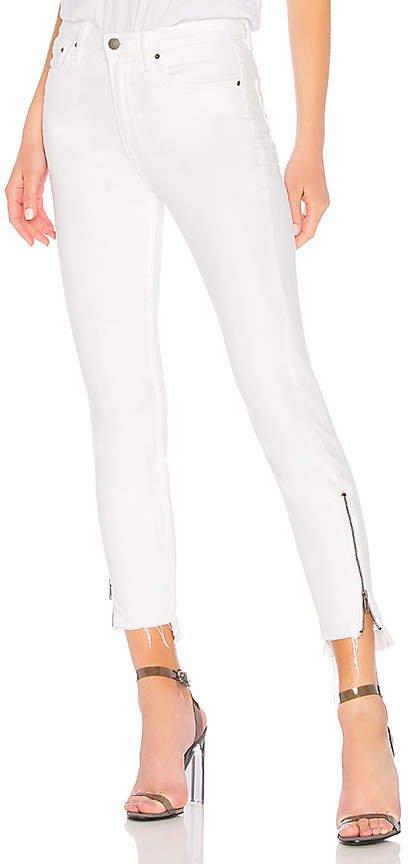 Kendall High-Rise Zipper Jean.