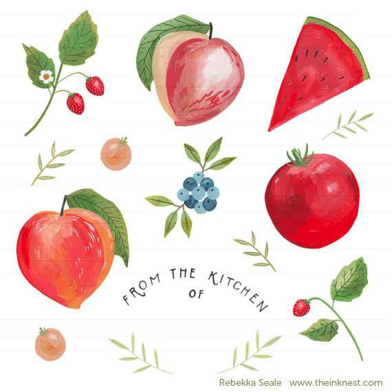 Summer Fruit | The Ink Nest