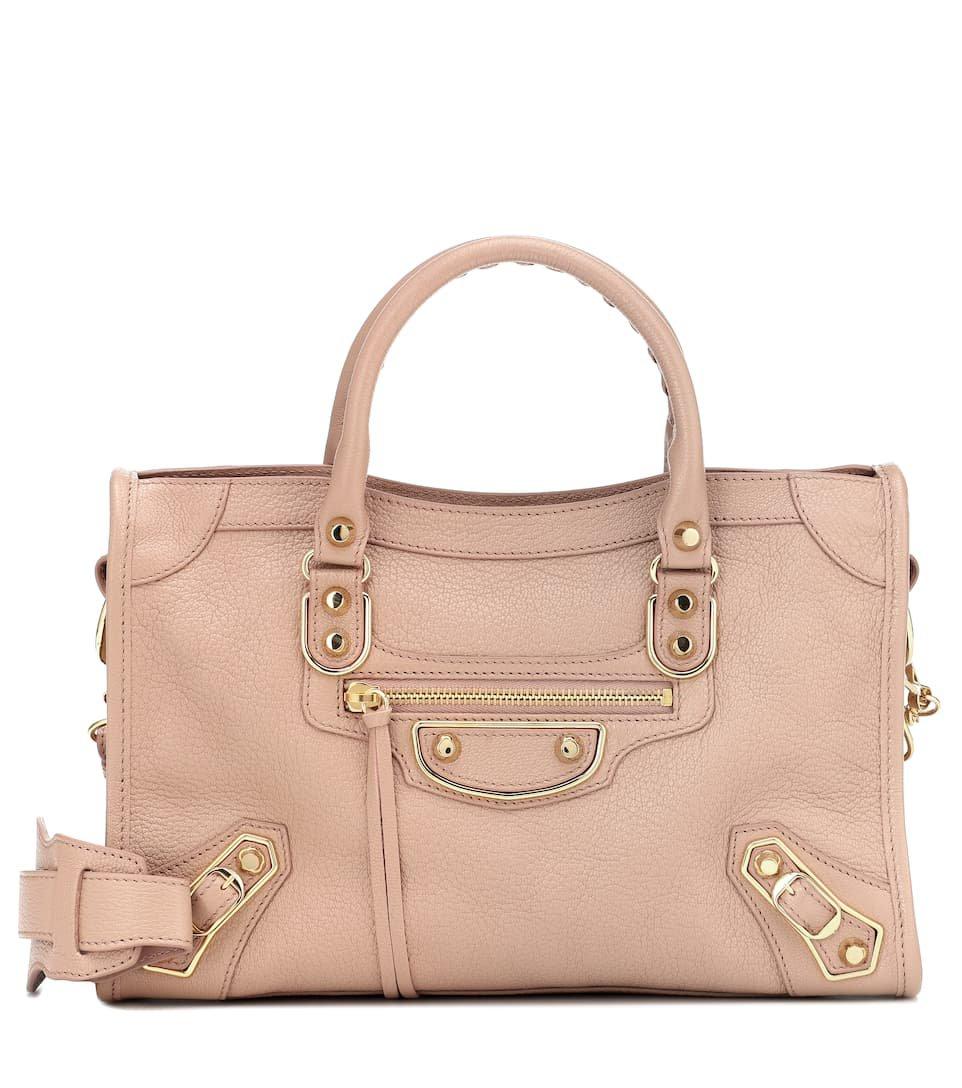 Balenciaga - Classic City M leather tote | Mytheresa