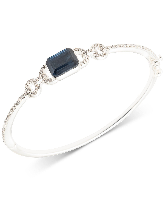 Lauren Ralph Lauren Pavé & Stone Bangle Bracelet - Fashion Jewelry - Jewelry & Watches - Macy's