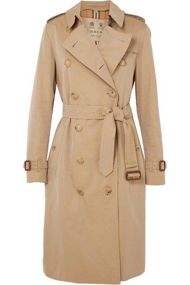 Burberry | The Kensington Long trench coat