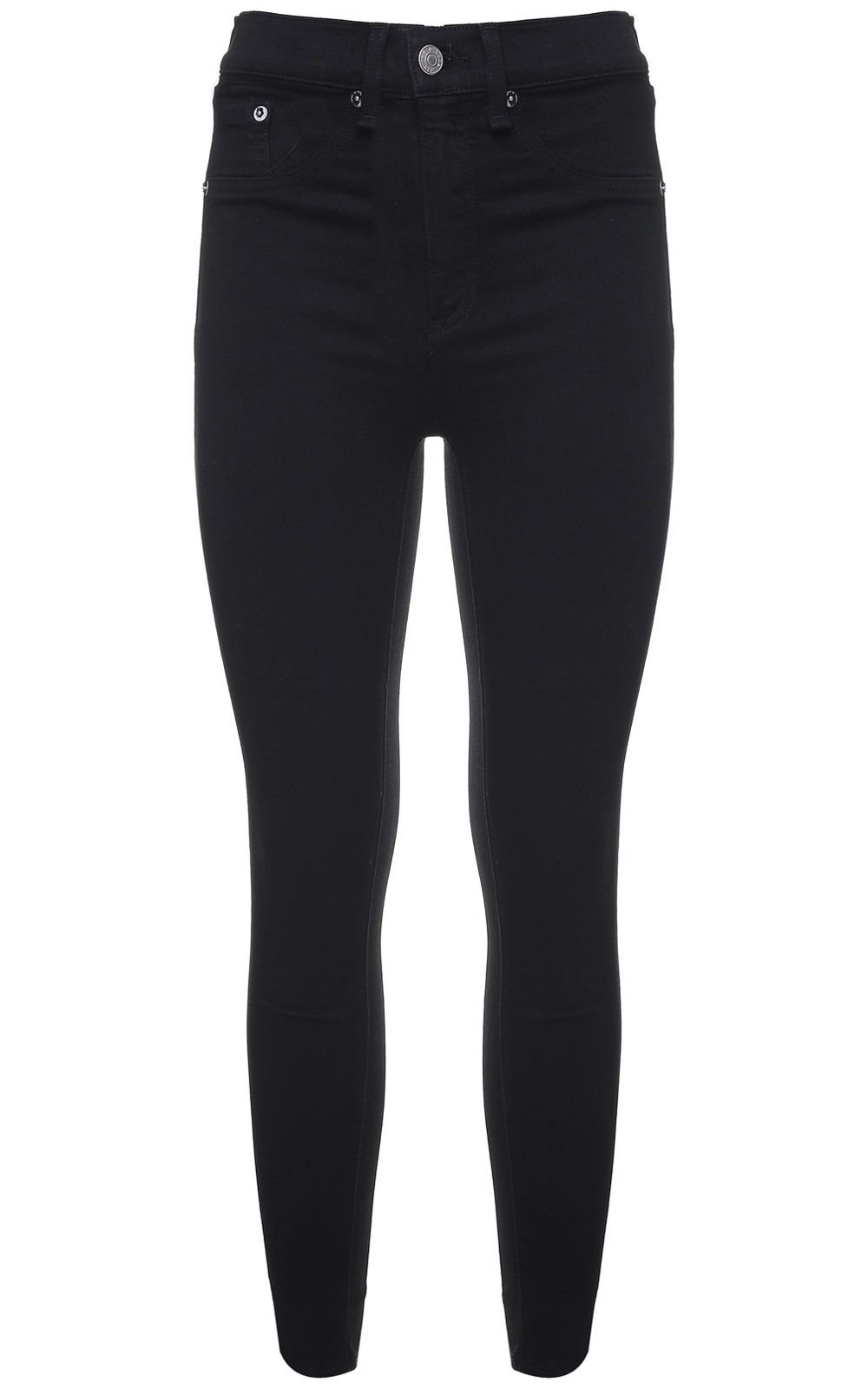 Rag & Bone Cropped High-rise Skinny Jeans