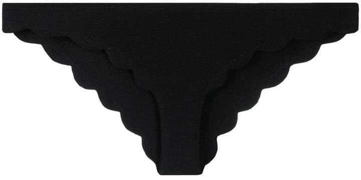 scalloped bikini bottoms