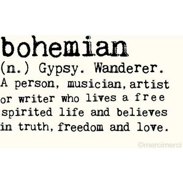 boho words - Google Search