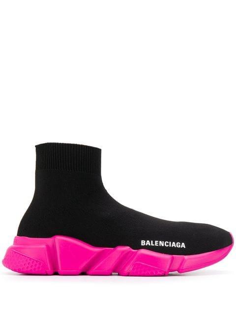 Balenciaga Speed Knit Sneakers - Farfetch