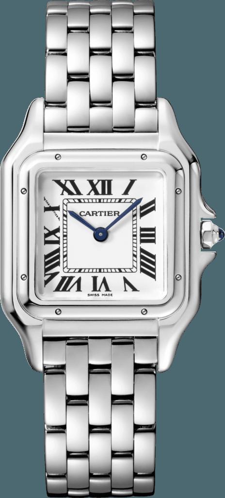 CRWSPN0007 - Montre Panthère de Cartier - MM, acier - Cartier