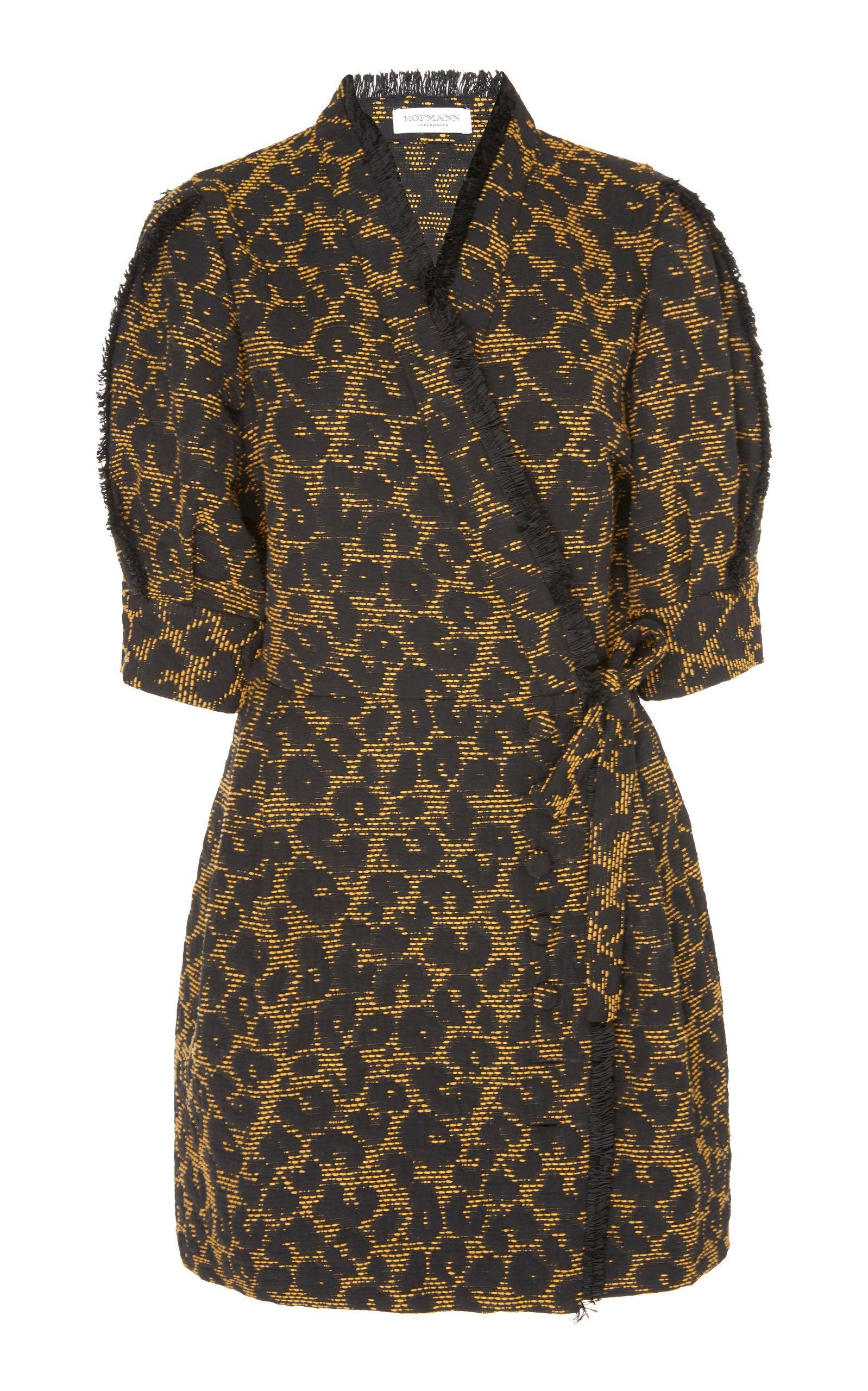 HOFMANN COPENHAGEN Kristen Puff Sleeve Mini Dress