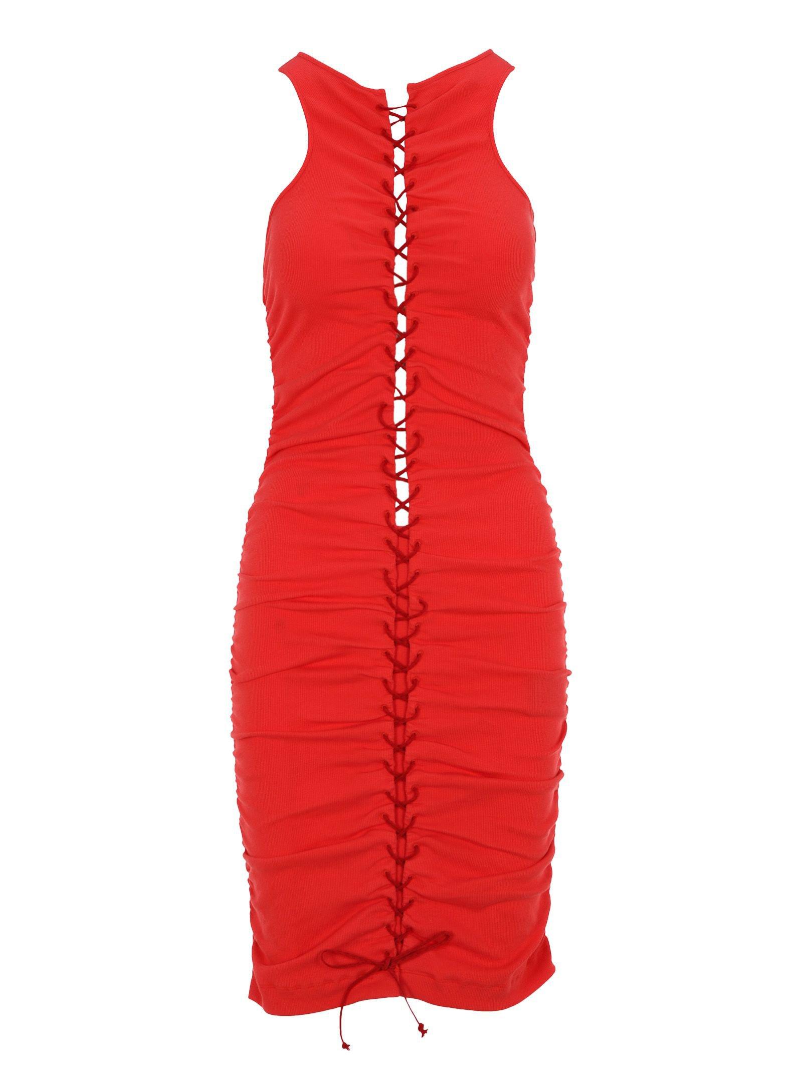 Unravel Unravel Project Lace-up Dress