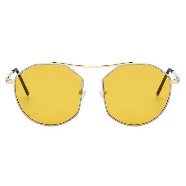Fashiontage - Blue Sunglass - 938318889021