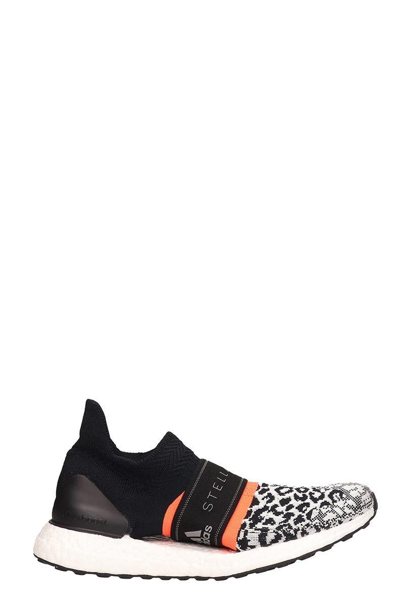 Adidas by Stella McCartney Black Technical Fabric Ultra Boost X 3 Sneakers