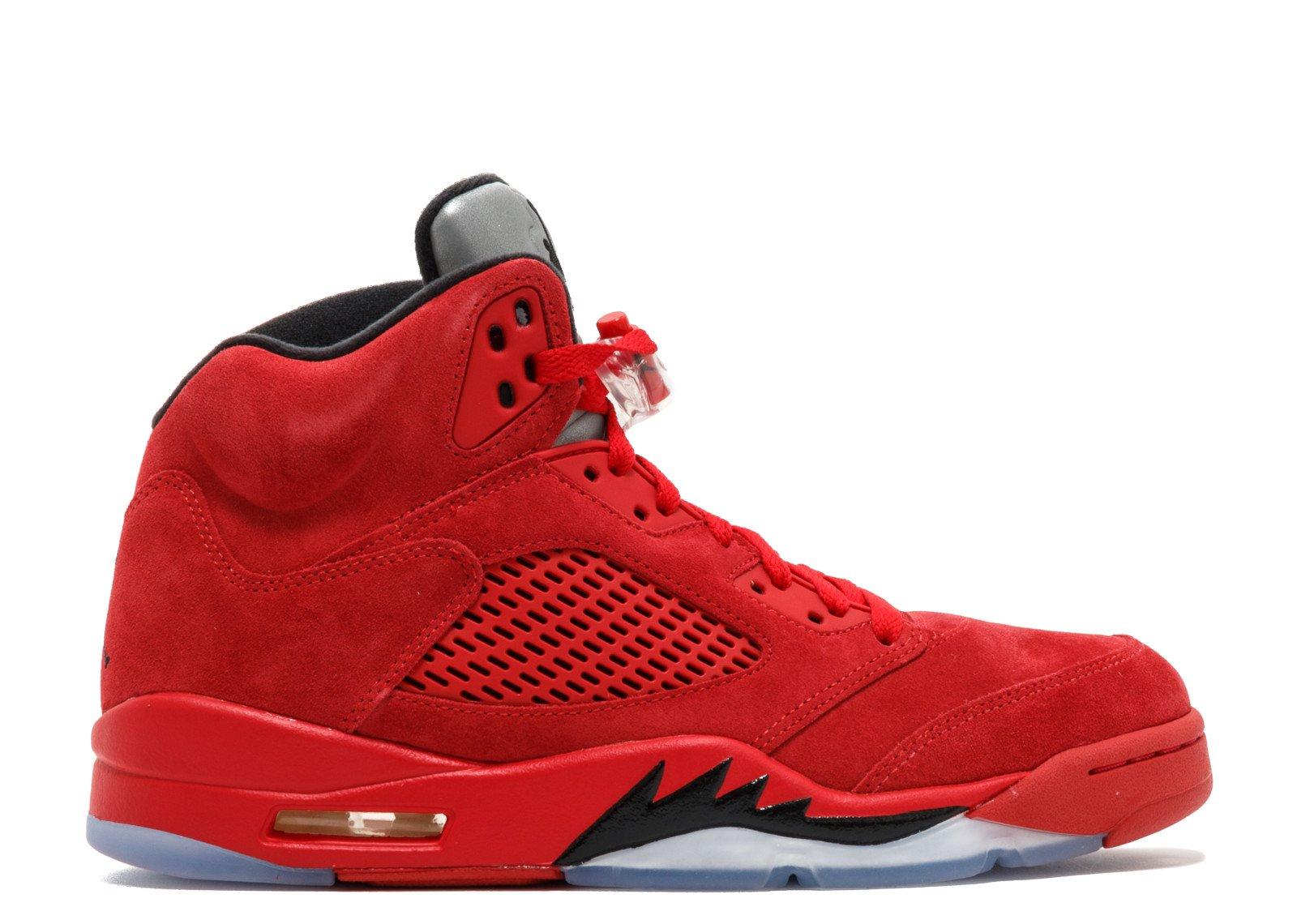 "Air Jordan 5 Retro ""red Suede"" - Air Jordan - 136027 602 - university red/black | Flight Club"