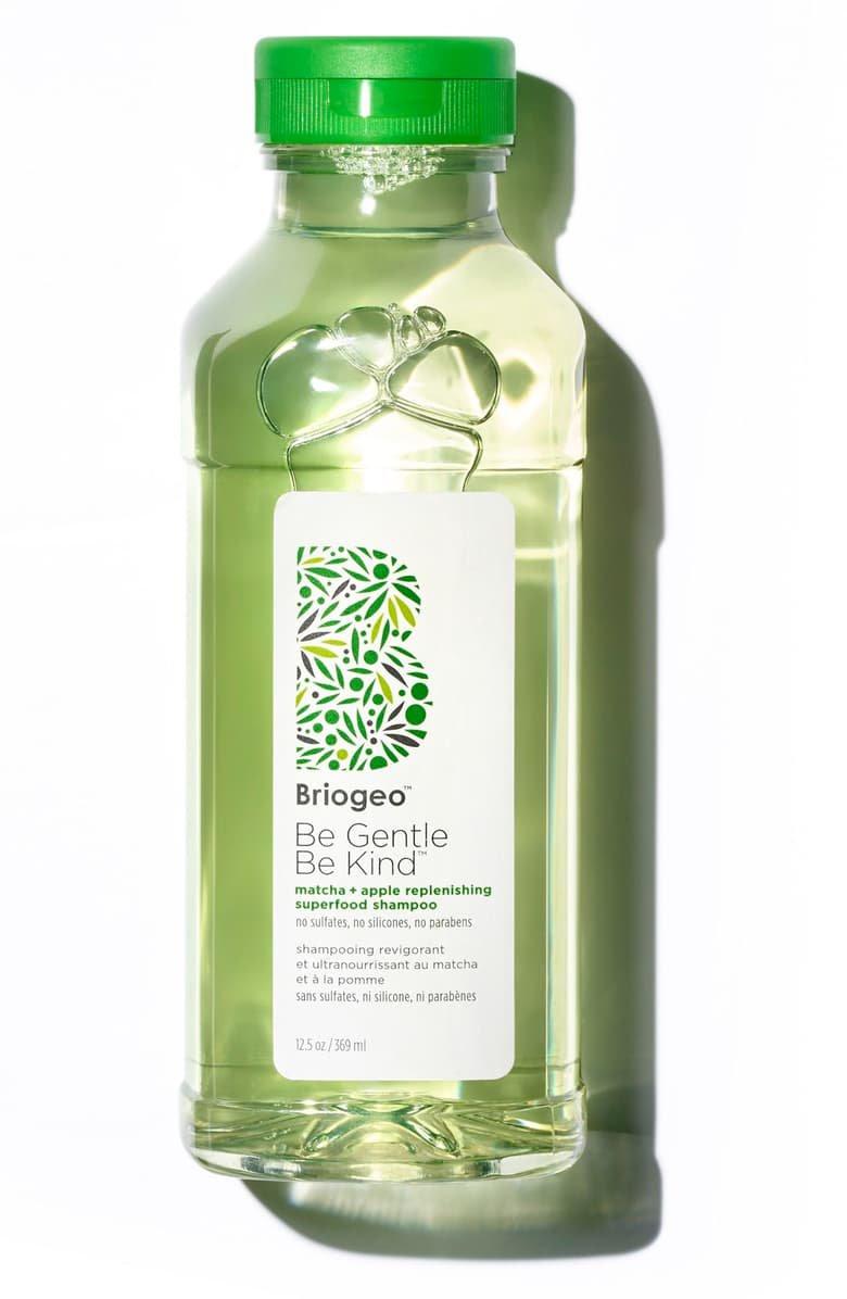 Briogeo Be Gentle, Be Kind Matcha + Apple Replenishing Superfood Shampoo | Nordstrom