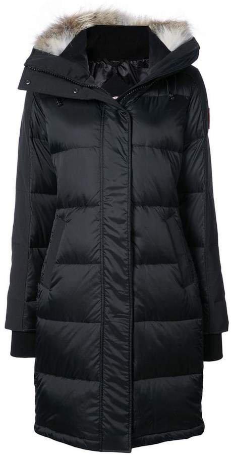 goose down padded coat