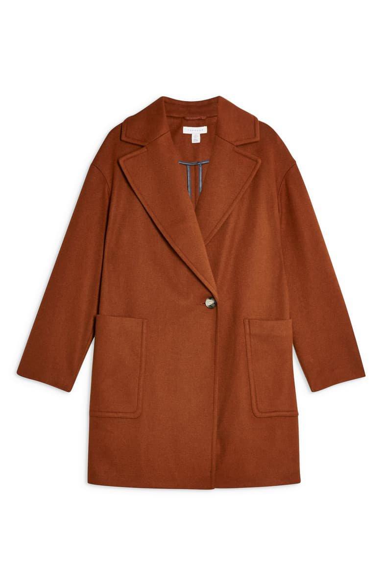 Topshop Carly Coat (Petite) | Nordstrom