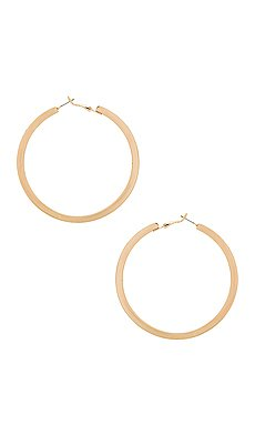 Ettika Arch Chain Earrings in Gold | REVOLVE
