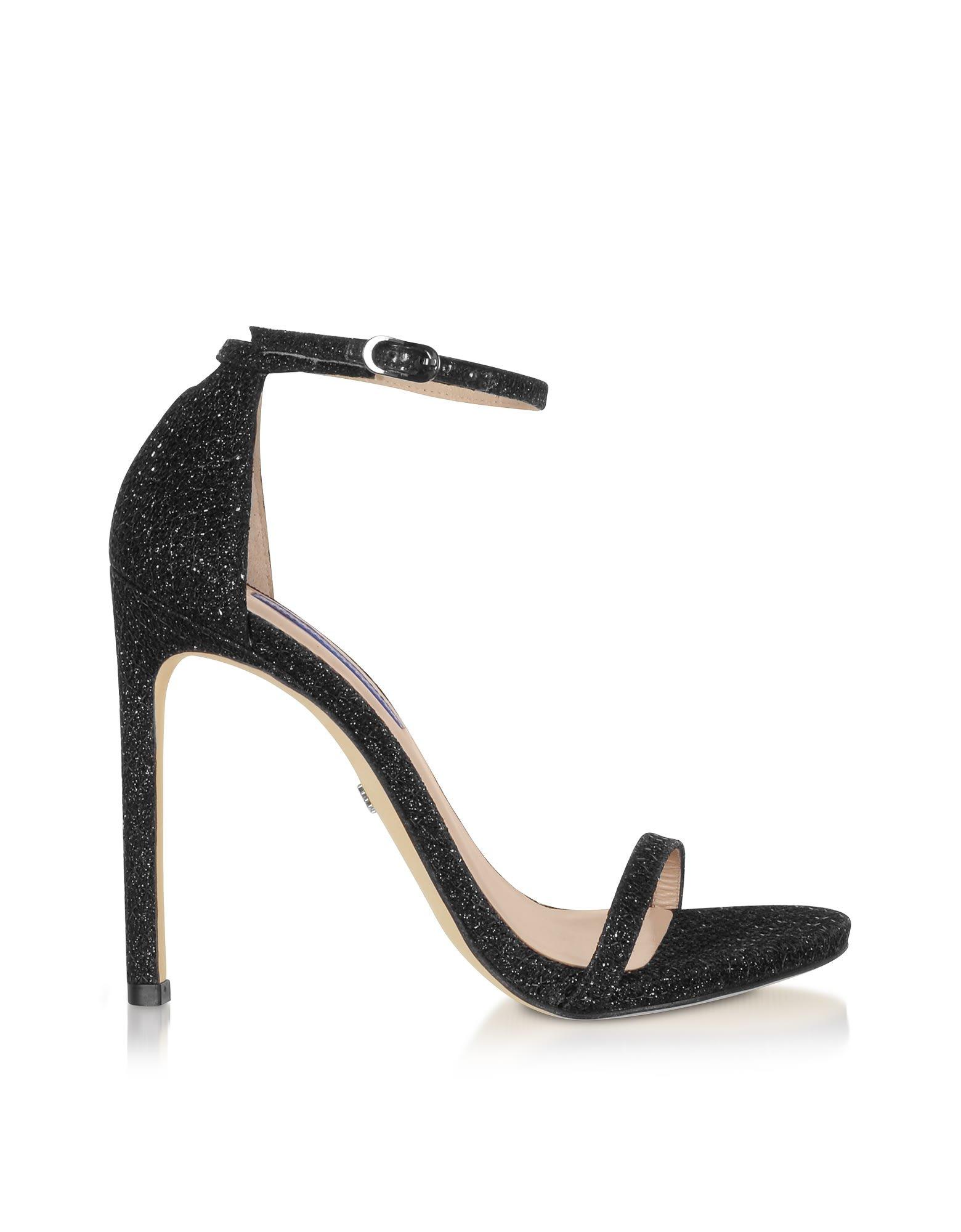 Stuart Weitzman Nudist Night Star High-heel Sandals