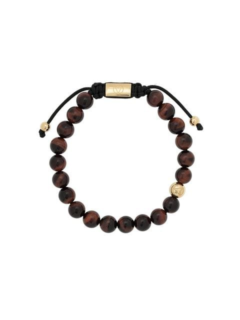 Northskull Tiger Eye beaded bracelet