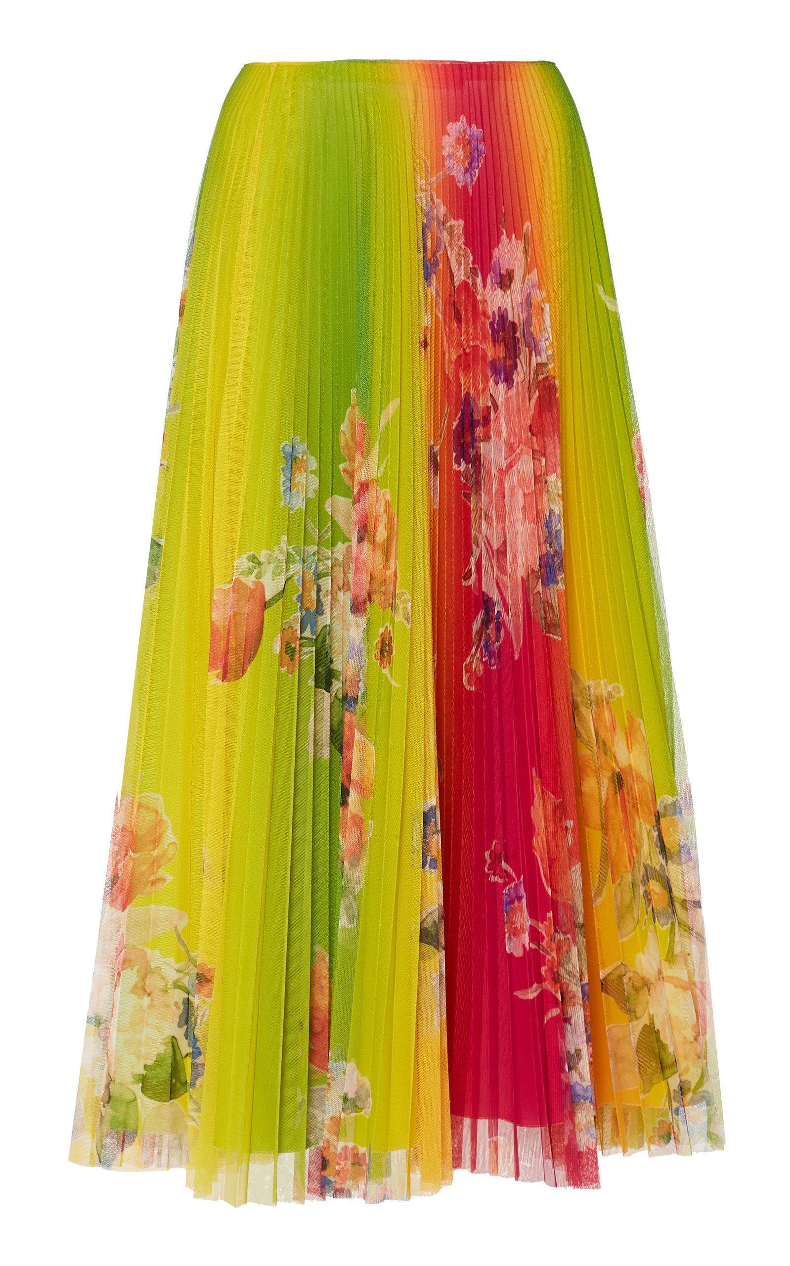 Ralph Lauren Pleated Trivelas Skirt