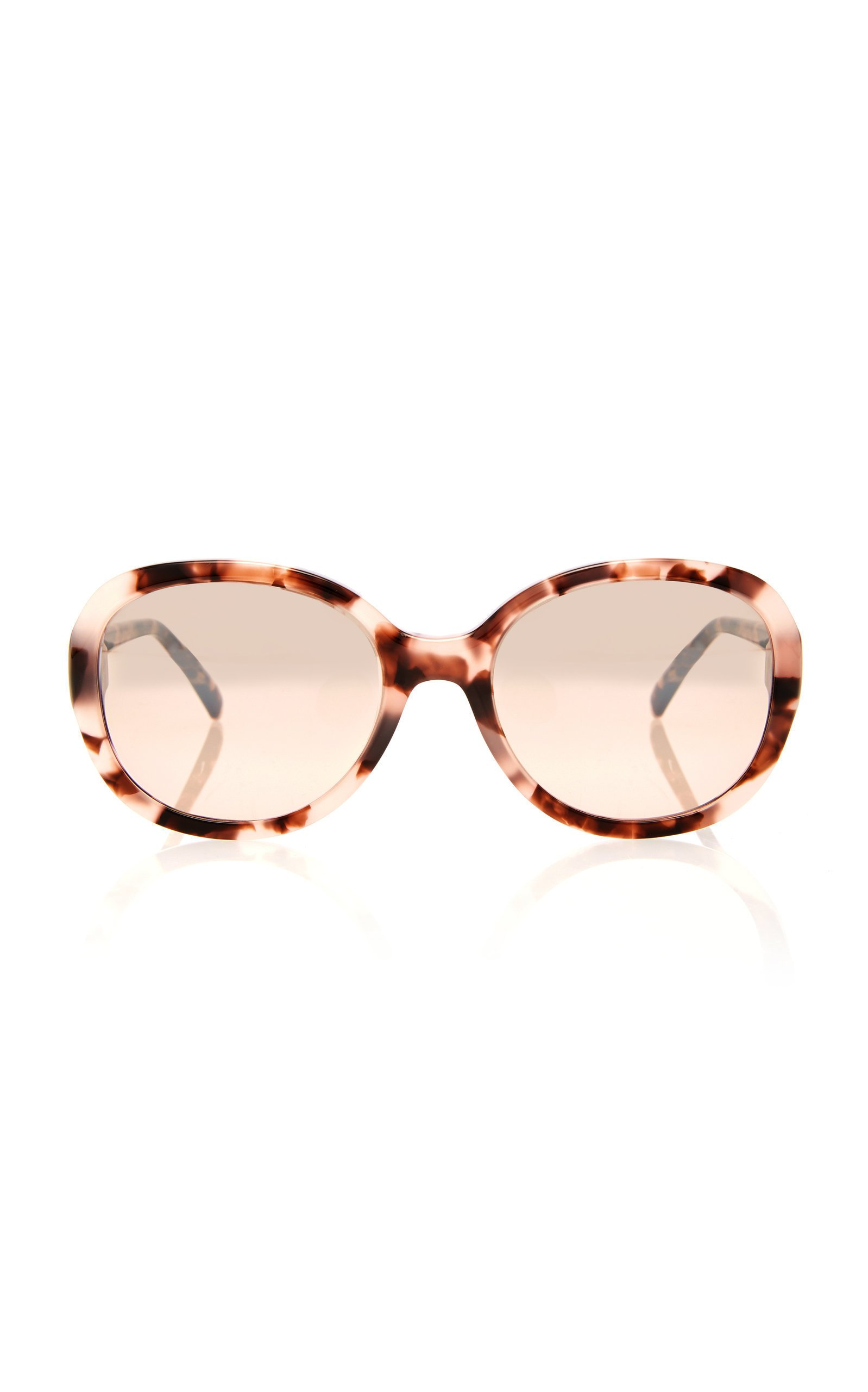 Givenchy Sunglasses Tortoiseshell Acetate Round-Frame Sunglasses