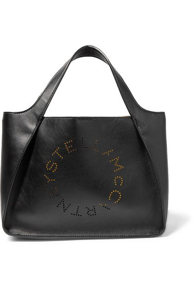 Stella McCartney | Perforated faux leather tote | NET-A-PORTER.COM