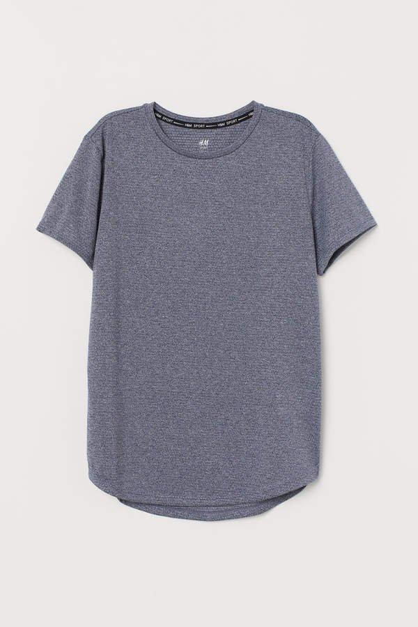 Mesh Sports Top - Gray