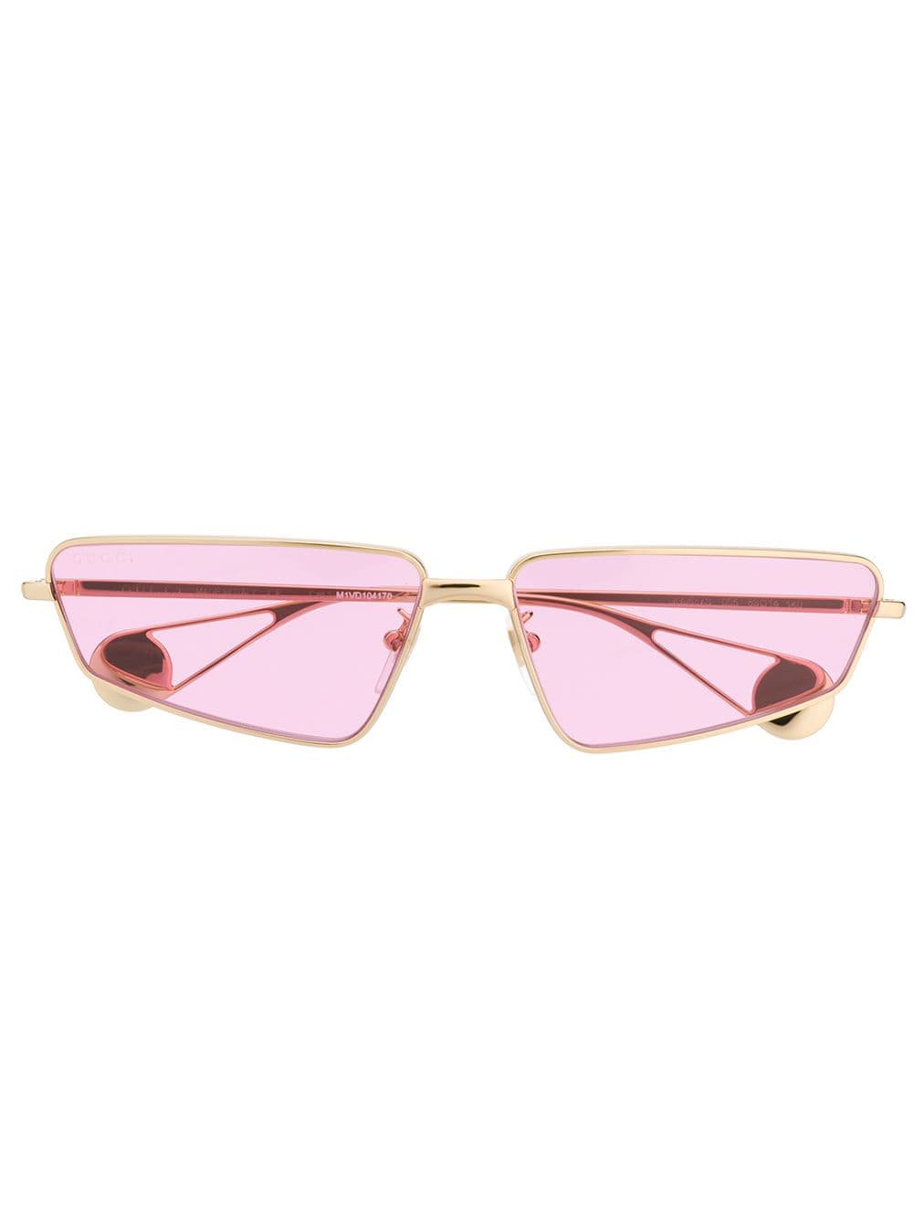 Gucci Eyewear Rectangle Frame Sunglasses - Farfetch