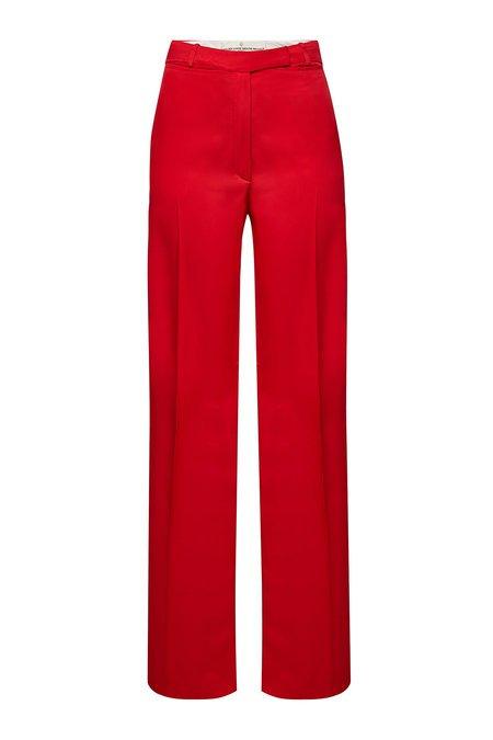 Golden Goose Deluxe Brand - Carrie Wide Leg Pants - red