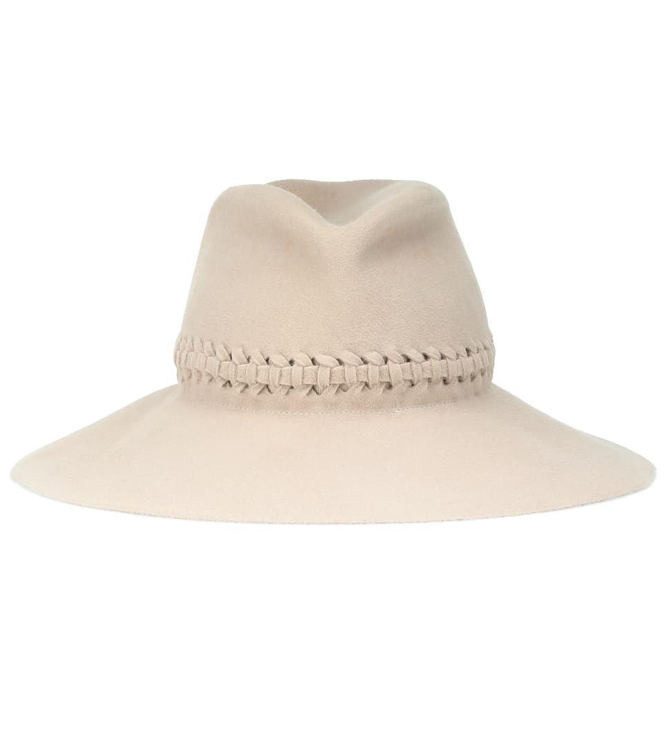 Lola Hats - Sombrero Fretwork Redux de fieltro | Mytheresa