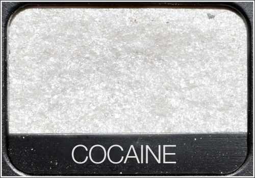 cocaine eyeshadow