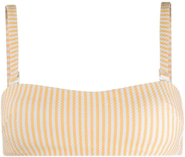 Asceno wrap bandeau top