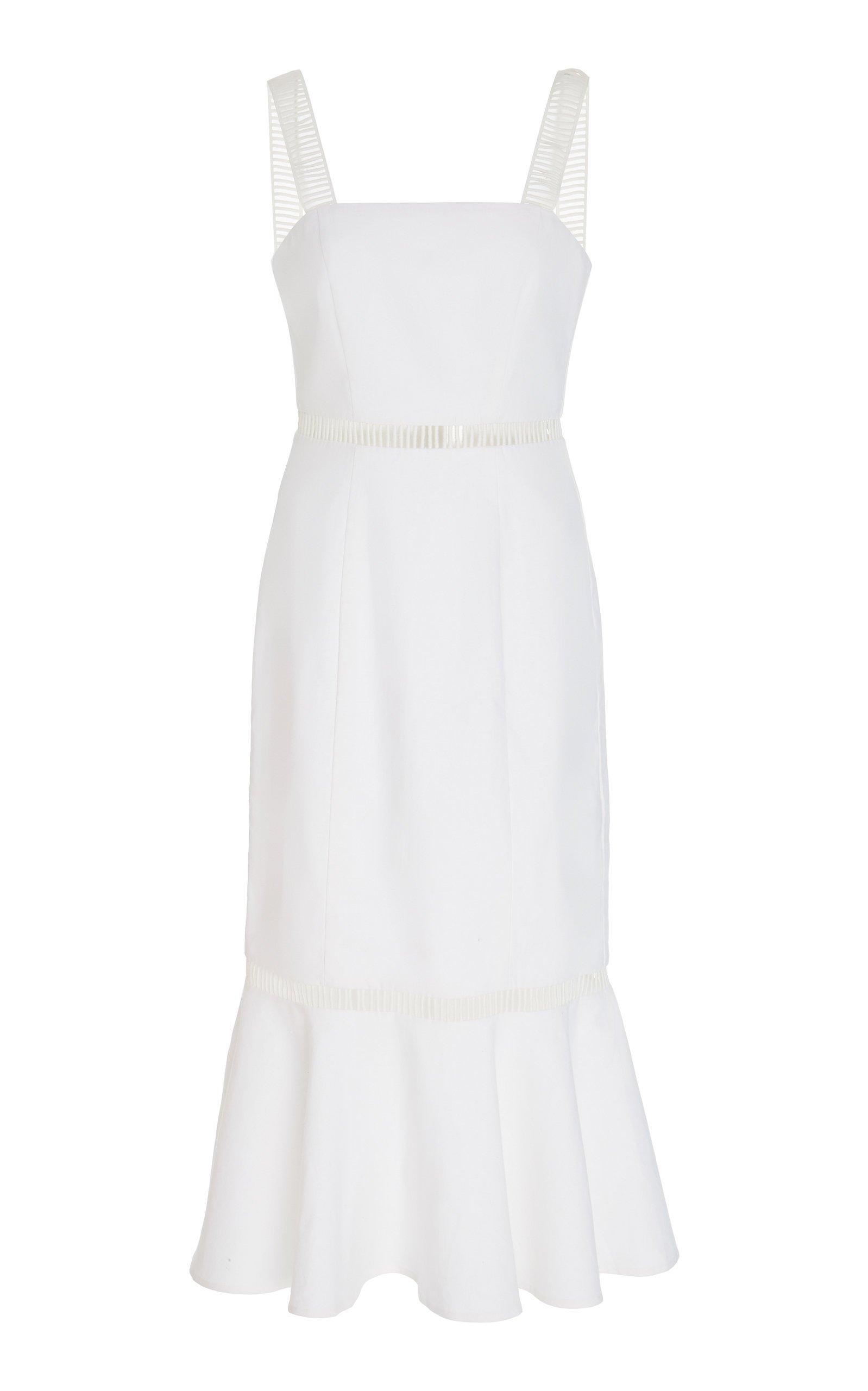 Staud Lychee Midi Dress Size: 00