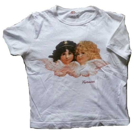 cherub white tee shirt