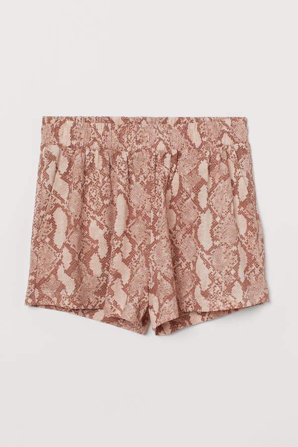 Modal-blend Shorts - Orange