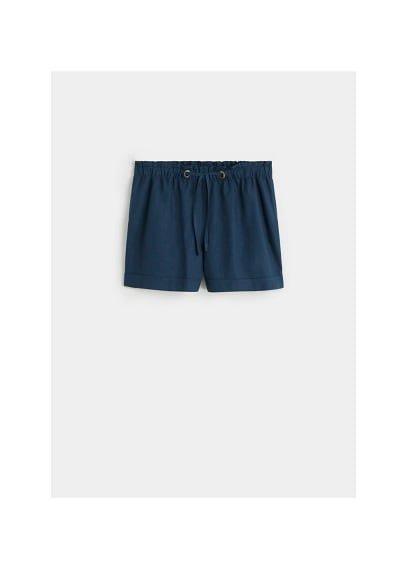 Violeta BY MANGO Linen shorts