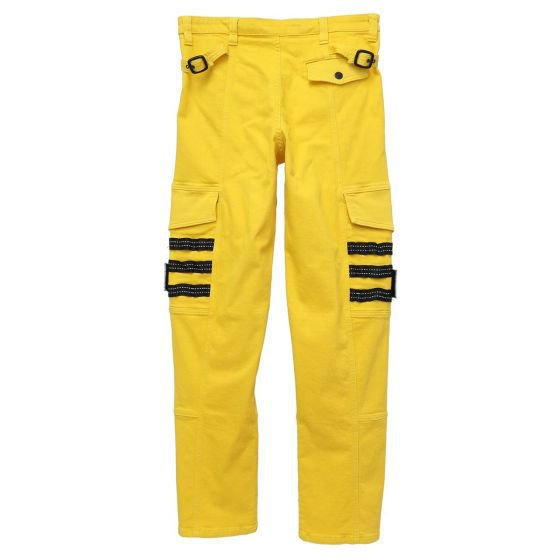 PLACES+FACES x GUESS JEANS U.S.A. PF CARGO TECHNICAL PANT / B249 : GOLD RUSH YELLOW