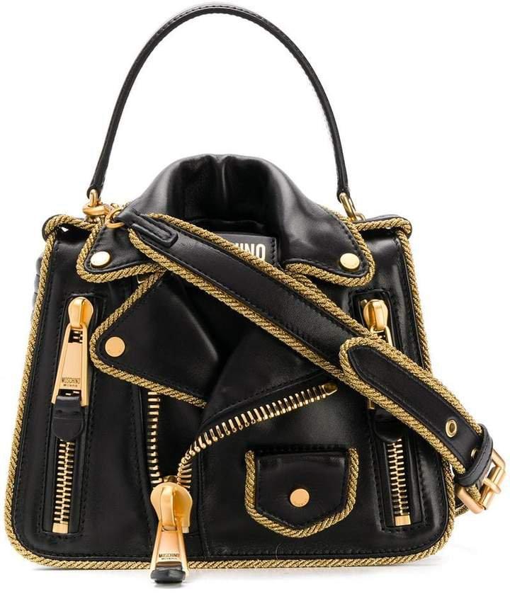 Leather Jacket shoulder bag