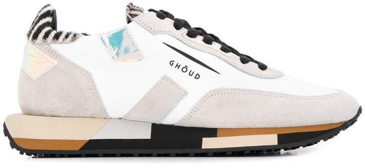 Ghoud contrasting panel sneakers