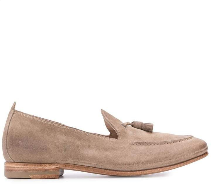 tassel soft loafers