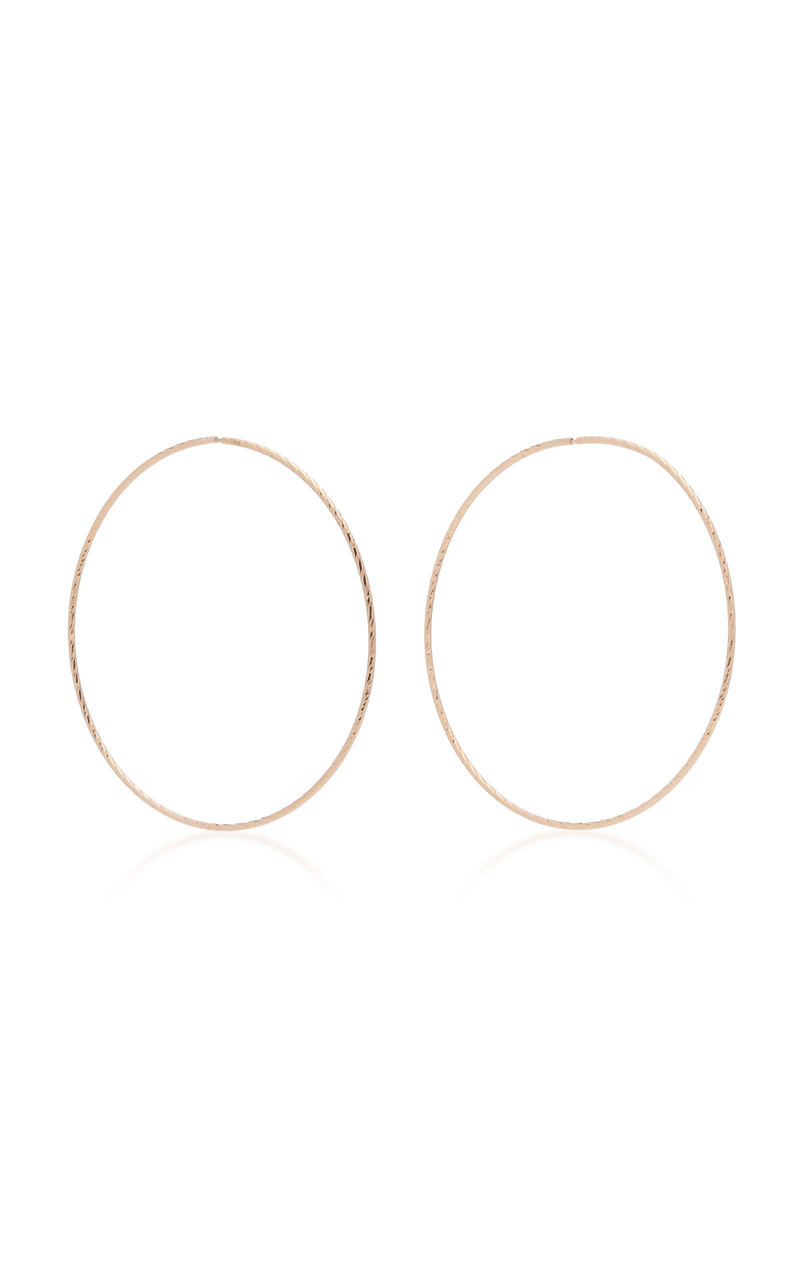 Maria Black Liv 14K Gold Hoop Earrings
