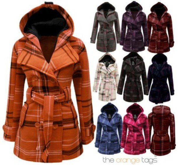 plaid coats - Google Search