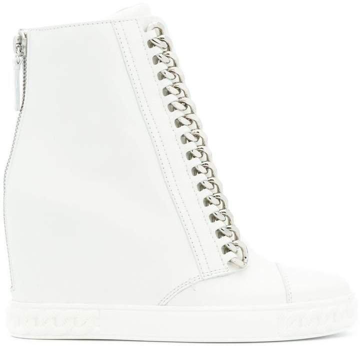 concealed wedge sneakers