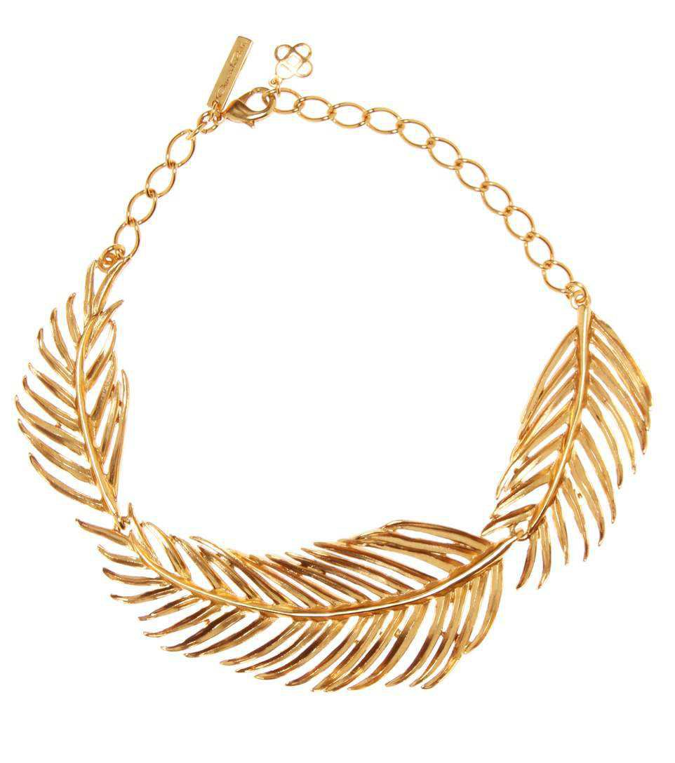Palm Leaf Necklace | Oscar de la Renta - mytheresa.com