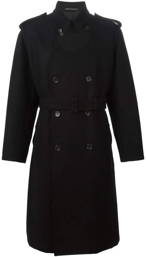 Pre-Owned oversized trench coat