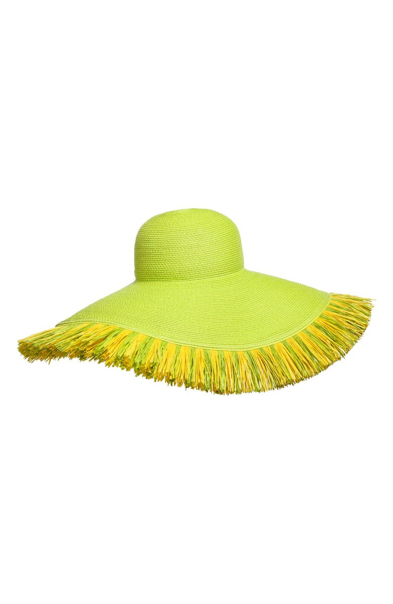 Eric Javits Fringed Squishee® Packable Floppy Hat   Nordstrom