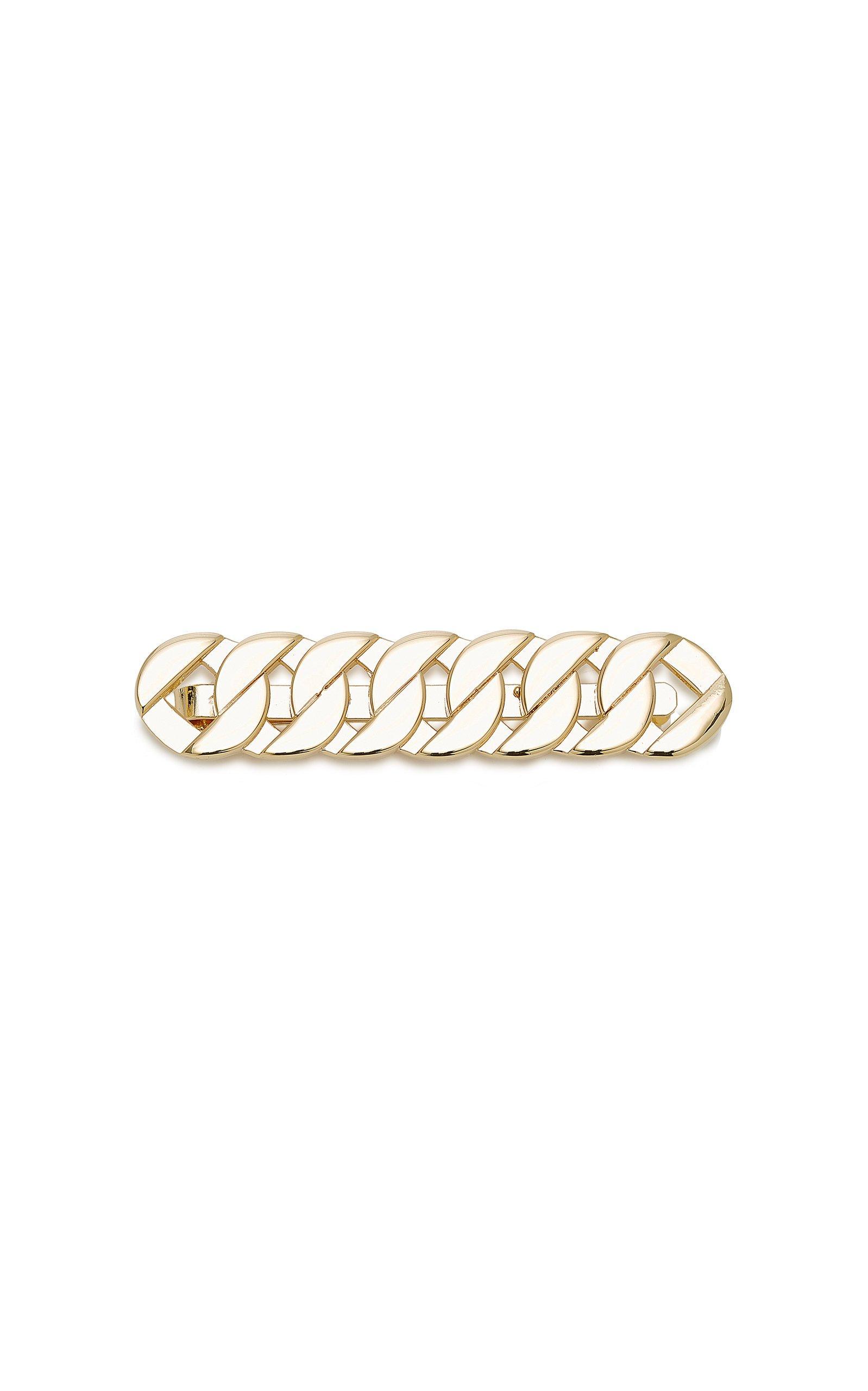 Saskia Diez Grand Gold-Plated Hair Clip