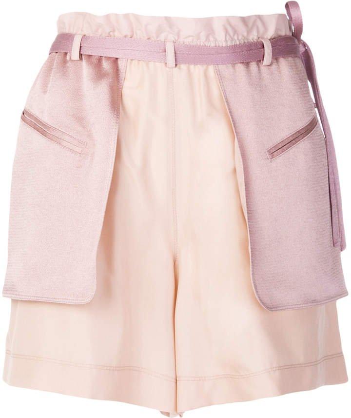 layered shorts