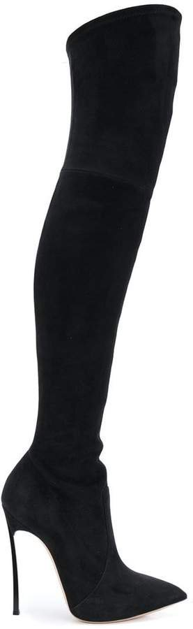 over-the-knee Blade boots