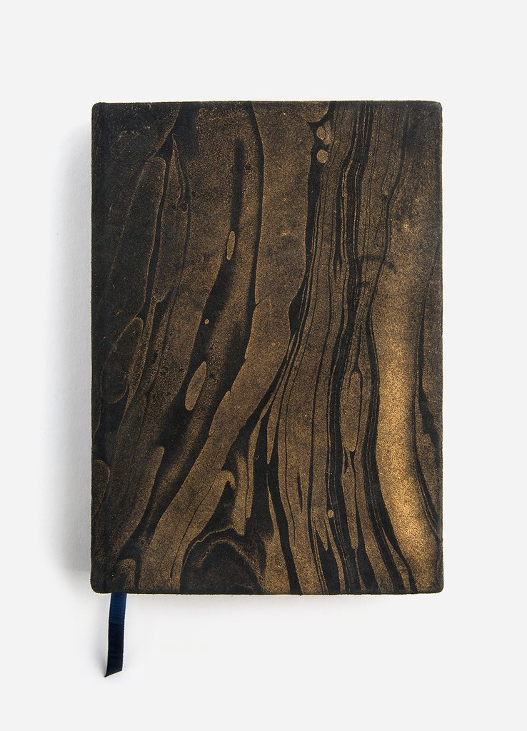 Suede Black Magic Leather Journal • HausWitch Home + Healing